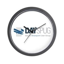DAYSPUG Wall Clock