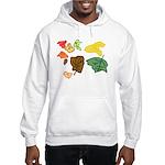 Autumn Leaves Hooded Sweatshirt