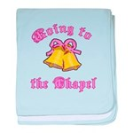 Wedding Bells baby blanket