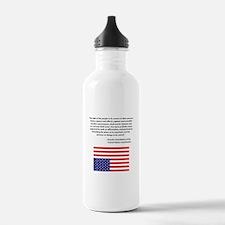 Fourth Amendment US Constitut Water Bottle