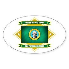 Washington Flag Decal