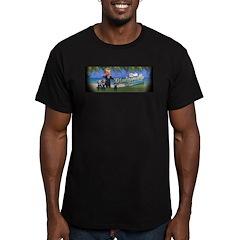 Madiganville Men's Fitted T-Shirt (dark)