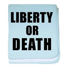 Liberty or Death baby blanket