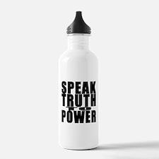 Speak Truth to Power Water Bottle