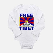 Free Tibet Long Sleeve Infant Bodysuit