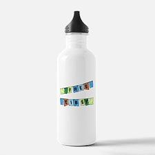 Free Tibet Prayer Flags Water Bottle