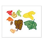 Autumn Leaves Small Poster