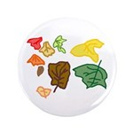 """Autumn Leaves 3.5"""" Button (100 pack)"""