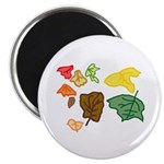"""Autumn Leaves 2.25"""" Magnet (100 pack)"""