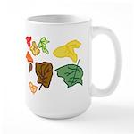 Autumn Leaves Large Mug