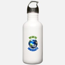 We Are All Immigrants Water Bottle