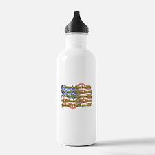 Cute Pledge of allegiance Water Bottle