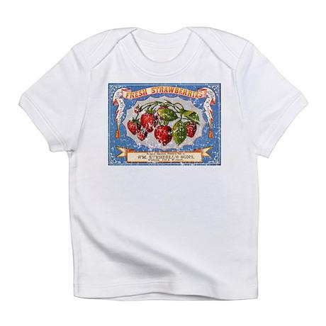 Fresh Strawberries Label Infant T-Shirt