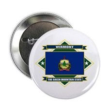 "Vermont Flag 2.25"" Button"