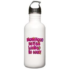 Momhood Never Looked so Good Water Bottle