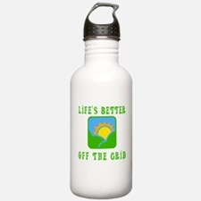 Life's Better Off the Grid Water Bottle