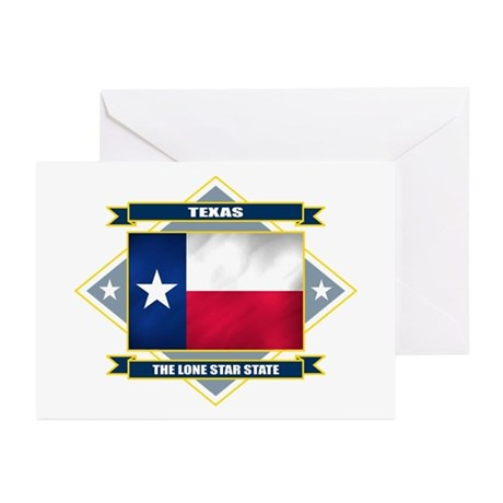 Texas Flag Greeting Cards (Pk of 10)
