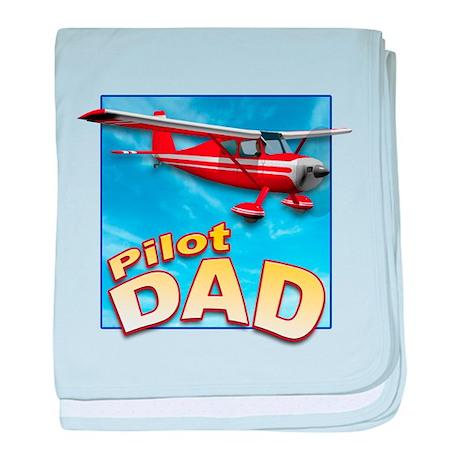 Pilot Dad baby blanket