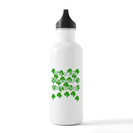 21 Shamrock Birthday Stainless Water Bottle 1.0L
