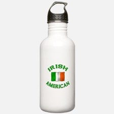 Irish American w/Irish flag Water Bottle