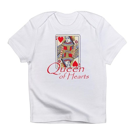 Queen of Hearts playing card Infant T-Shirt