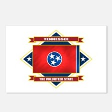 Tennessee Flag Postcards (Package of 8)