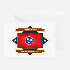 Tennessee Flag Greeting Cards (Pk of 10)