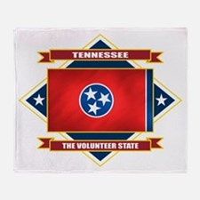 Tennessee Diamond Throw Blanket