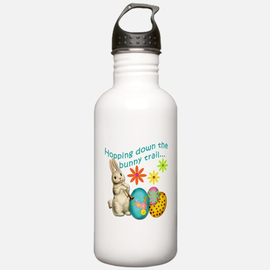 Hopping Down the Bunny Trail Sports Water Bottle