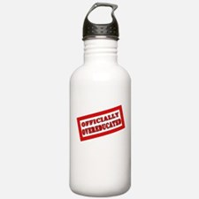 Officially Overeducated Water Bottle