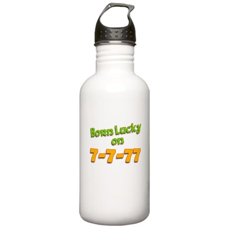 7-7-77 Birthday Stainless Water Bottle 1.0L
