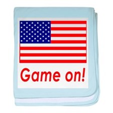 USA Pride! Game On! baby blanket