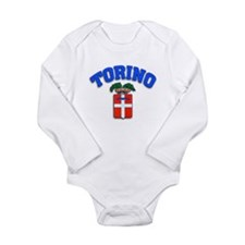Torino Torino Torino! Long Sleeve Infant Bodysuit