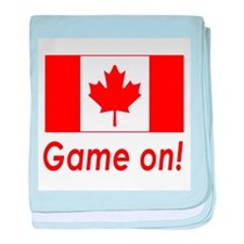 Canada Pride Game On! baby blanket