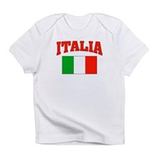 ITALIA: with flag of Italy Infant T-Shirt