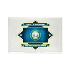 South Dakota Flag Rectangle Magnet