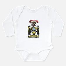 Cute Knights templar Long Sleeve Infant Bodysuit