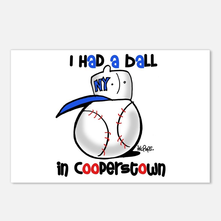 I had a Ball in Cooperstown Postcards (Package of