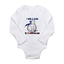 I had a Ball in Cooperstown Long Sleeve Infant Bod