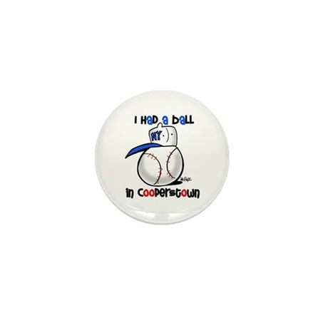 I had a Ball in Cooperstown Mini Button (10 pack)