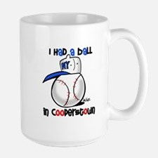 I had a Ball in Cooperstown Large Mug