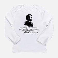 Lincoln to Sin by Silence Long Sleeve Infant T-Shi