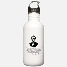 Funny Famous president Water Bottle