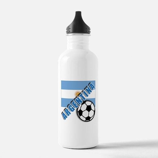 World Soccer Argentina Water Bottle