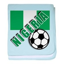 World Soccer NIGERIA baby blanket