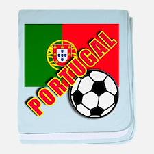 Unique Portugal soccer baby blanket