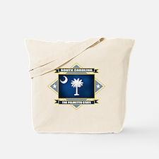 South Carolina Flag Tote Bag