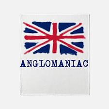 Anglomaniac Union Jack Throw Blanket