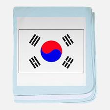 The Flag of (South) Korea baby blanket
