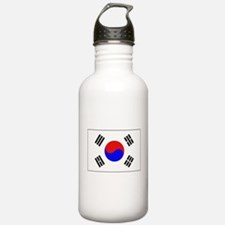 The Flag of (South) Korea Water Bottle
